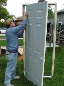 Dallas FW Prehung Door Installation