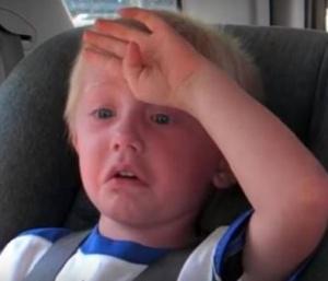 kid with heatstroke